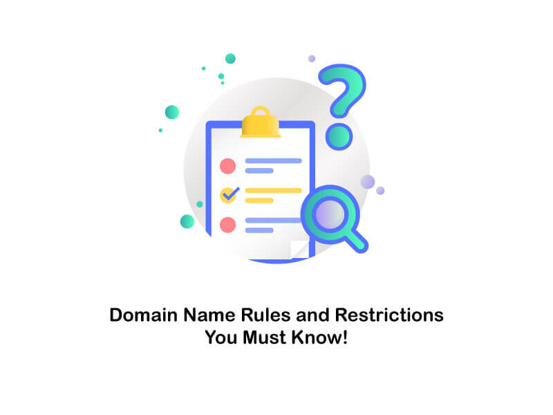 domain name rules and restrictions
