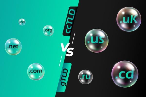 gTLDs vs ccTLDs Comparison