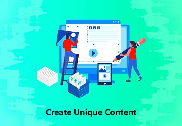 Create Unique Content