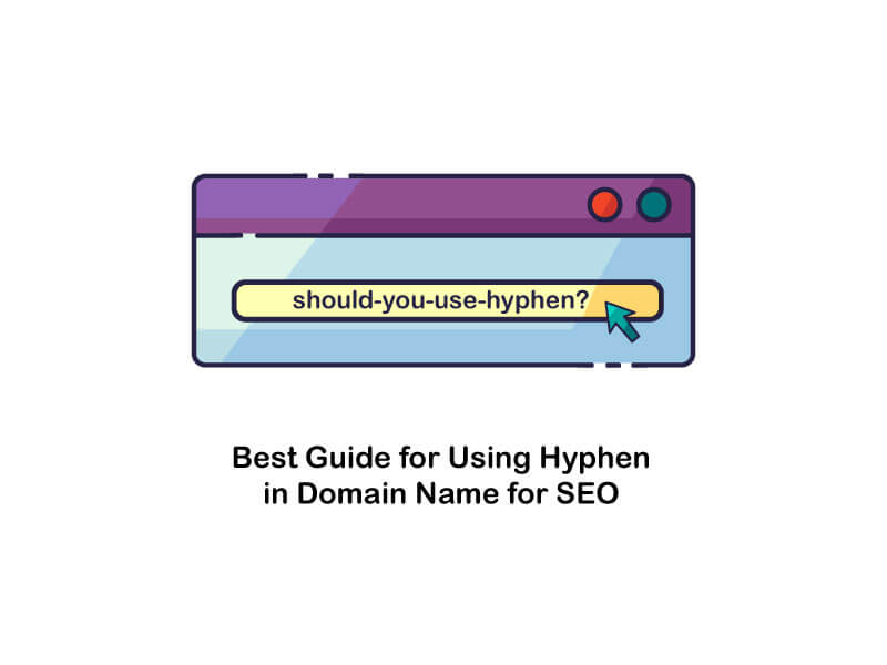 using hyphen in domain name for seo