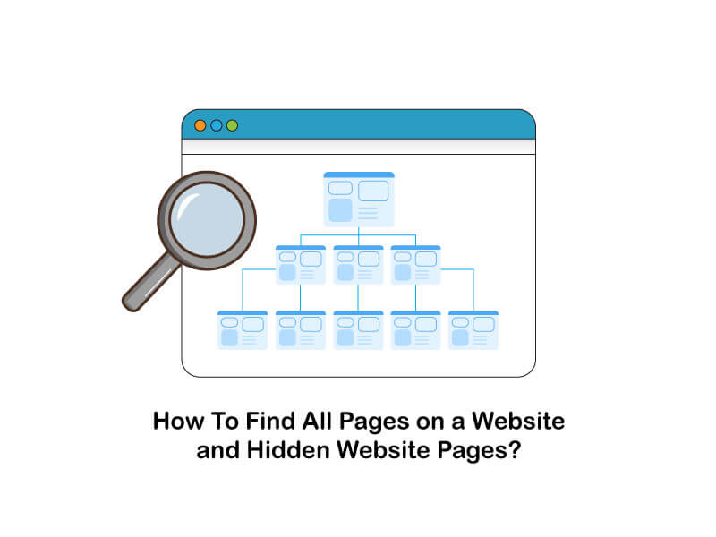 how to find all pages on a website