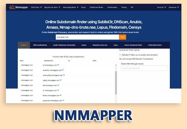 nmmapper