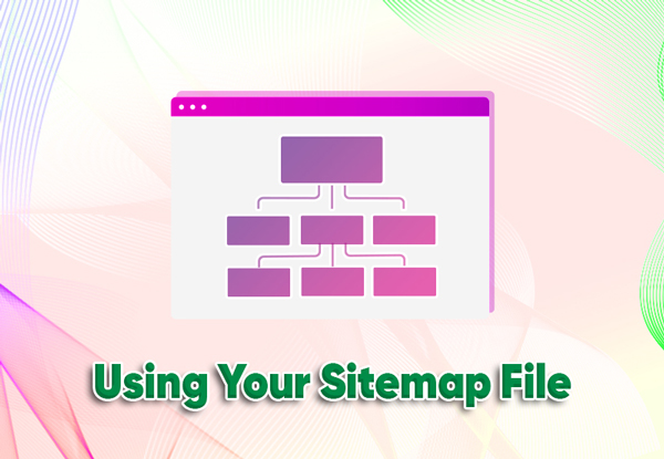 using your sitemap file
