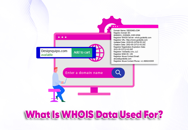 what is whois data used for?
