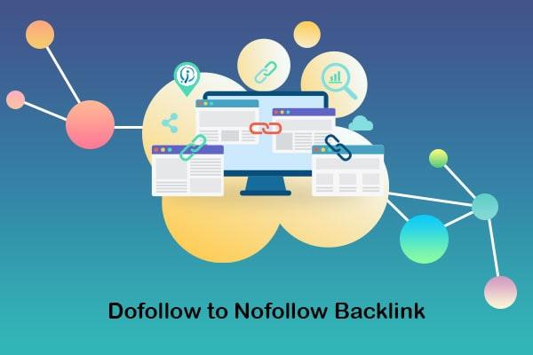 dofollow to nofollow backlink
