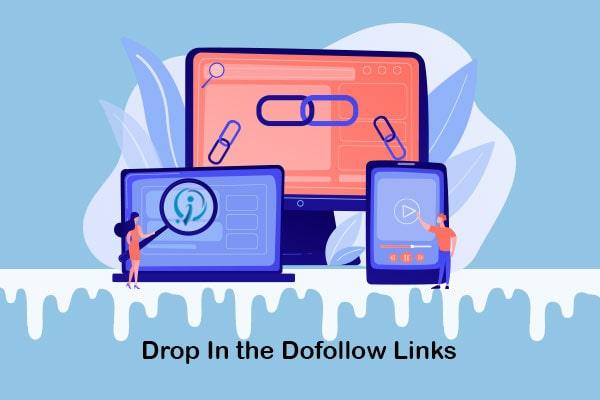 drop in the dofollow links