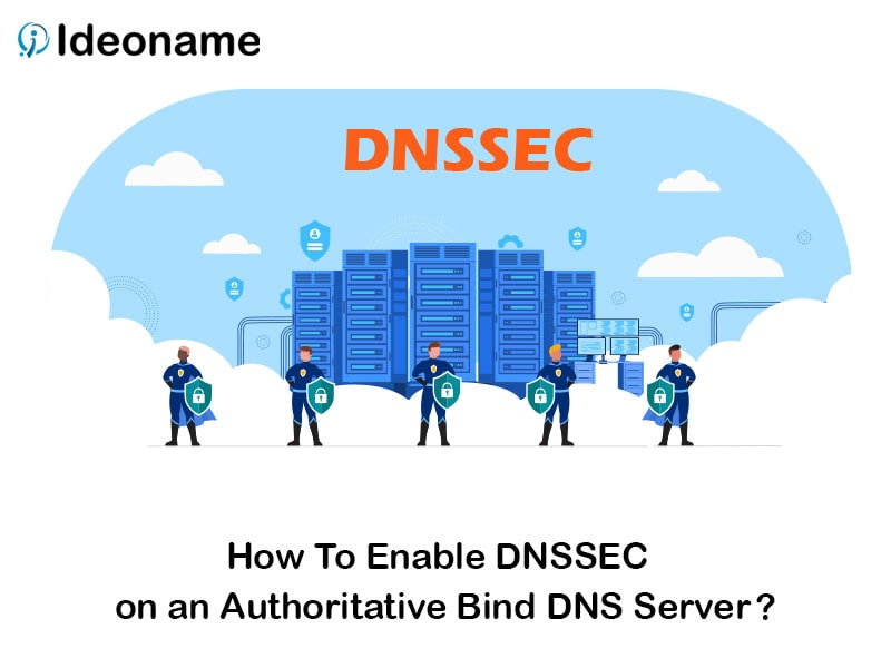how to enable dnssec on an authoritative bind dns server