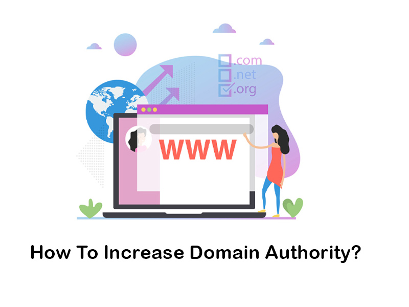 how to increase website domain authority